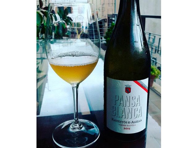 El vi Pansa Blanca de Raventós d'Alella