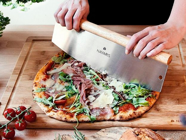 Un tallador de pizza
