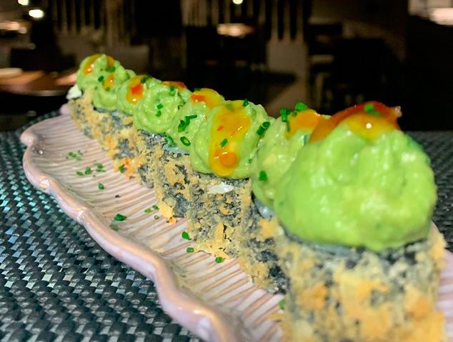 Veggie Rob del restaurant Sushi Ra de Premià de Mar