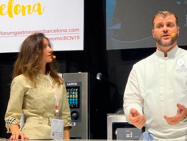 La Louloulopez en un forum gastronòmic