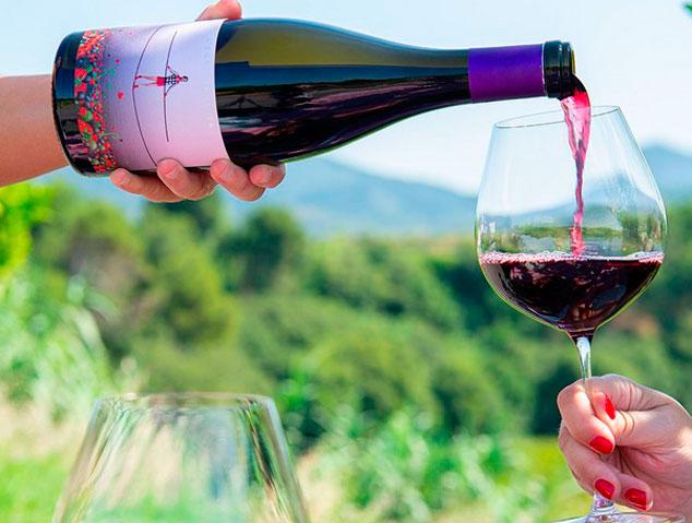 Equlibrista, de Ca'n Estruc, un dels millors vins negres Catalans