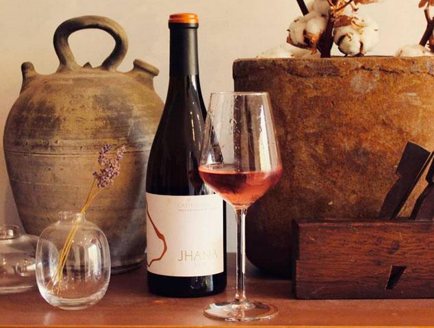 Jhana de Castell dencus, un dels millors vins rosats catalans