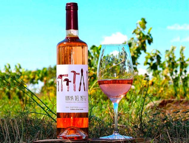 Vinya del Metge, un dels millors vins rosats de Catalunya