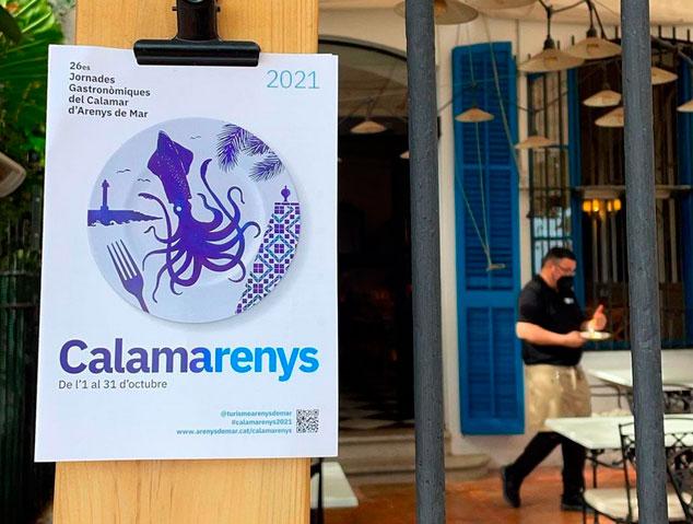 Calamarenys, cartell edició 2021